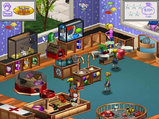 لعبة Pet Shop Hop لعبة بيع الحيوانات حلوة جدا كاملة